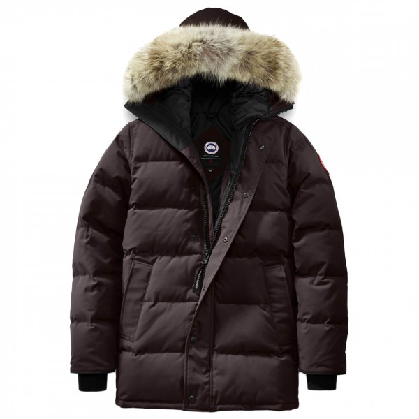 01fcc4b9beb CANADA GOOSE Homme Carson Parka 3805M – Colour  Charred Wood